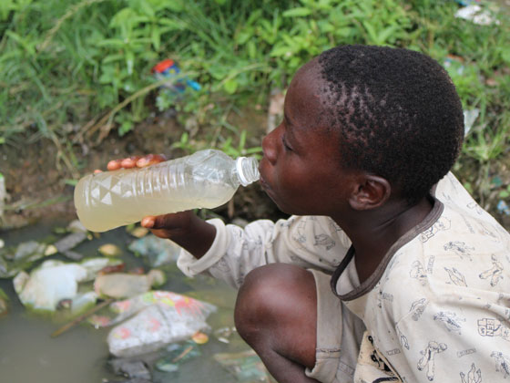 Supplying clean water & sanitation prevents deaths